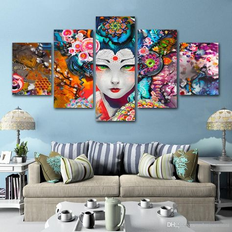 Site:dhgate.com/5-piece-japanese-flower-wall